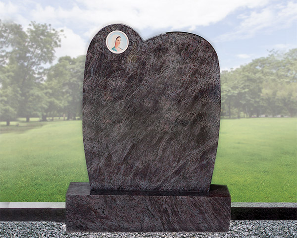 HS34 - Portrait Headstone