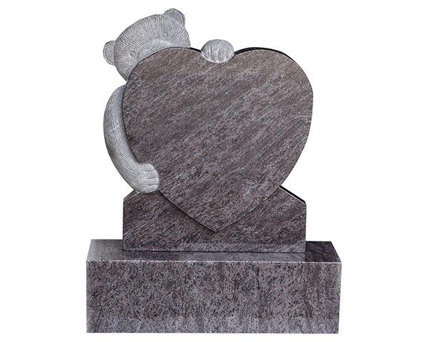 HS38 - Teddy On Heart