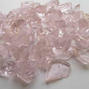 Pink Glass Chippings