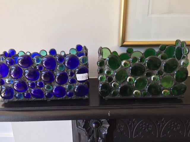 Green Glass Beads Midland Stone United Kingdom