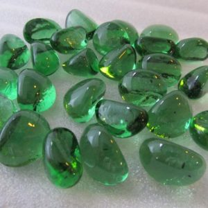 Midland stone Bottle Green Glass Pebbles