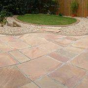 Modak Paving Stone in garden area