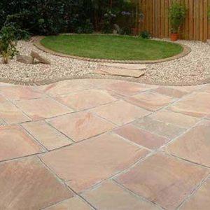 ... Modak Paving Stone In Garden Area