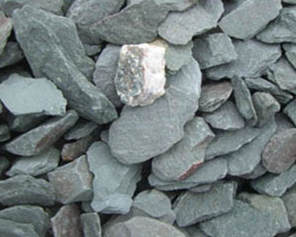 Midland Stone Pebble Dashing & Chipping green slate