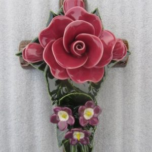 Rose Violette Cross used for Grave