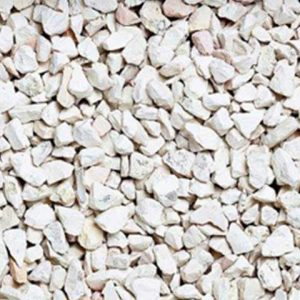 Bardiglio white marble porcelain stone chippings
