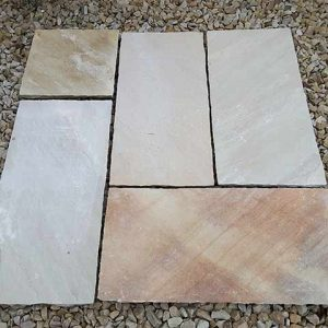 Mint Sandstone Paving MSIE1011