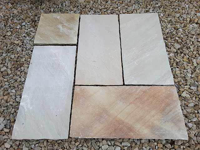 Mint Sandstone Paving Slabs Midland Stone