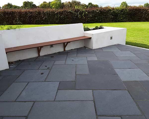 kadappa black limestone paving slabs midland stone. Black Bedroom Furniture Sets. Home Design Ideas