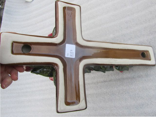 Ceramic Cross Back View