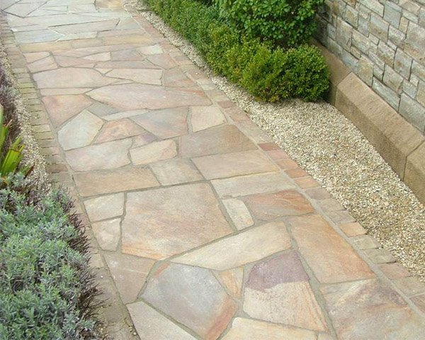 The Unique Style Of Crazy Paving